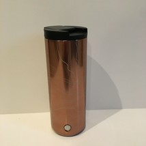 Starbucks 2018 Limited Edition Rose Gold Sparkly Coffee Travel Mug 16oz ... - $49.49