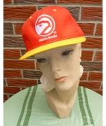 Vintage 1990s Atlanta Hawks Hat #3 Adjustable Unisex New w/Official NBA Tag - $22.75