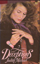 Deceptions, Judith Michaels, hardcover book club edition, good used cond... - $1.99