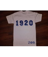 ZETA PHI BETA SORORITY T-SHIRT Zeta Phi Beta 19... - $15.00