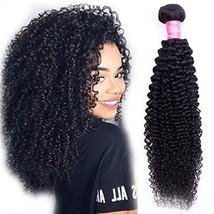 10A Brazilian Curly Hair Weave 1 Bundles Virgin Kinky Curly Human Hair Unprocess - $41.30