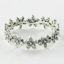 Pandora 190934CZ Ring Daisy Cubic Zirconia Sterling Silver Sz 6 52 New B... - $53.34