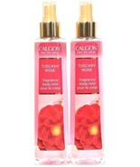 2 Bottles Calgon Take Me Away 8 Oz Tuscany Rose Luxurious Fragrance Body... - $39.99