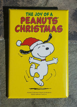 SNOOPY The Joys of a Peanuts Christmas Charlie Brown Lapel Hat Pin Button - $12.99
