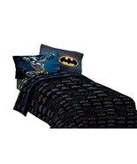Warner Bros Batman Guardian Speed Microfiber Sheet Set, Full - $49.99
