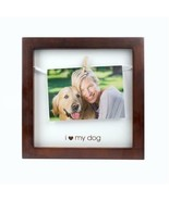 """""""I Love My Dog"""" Pet Clothespin Shadowbox Style Picture Frame Espresso 8""""... - $14.54"""