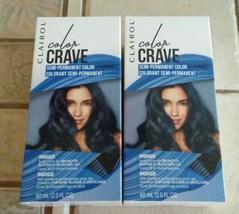 Clairol Color Crave Indigo Semi-Permanent Color 2.0 fl oz (2 Boxes) - $16.83