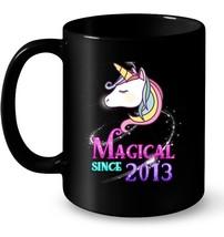 5th B day Magical Since 2013 Unicorn Gift Coffee Mug - $13.99+