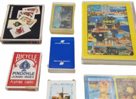 Vintage Playing Card Lot Airlines Delta Korean Continental Western Cruise Lines image 5