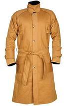 Mens Blade Deckard Runner Harrison Cotton Long Length Coat image 1