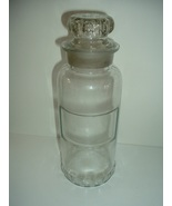 Antique Glass Pharmacy Apothacary Bottle Dated March 31 1891 - $71.24