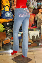 Women's Pepe Jeans Light Indigo Denim Pants - $92.00