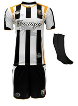 Durango Mexico Uniform Color Black/White Jersey,short,socks and number - $34.99
