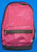 Victoria's Secret PINK Marbled Maroon Full Size Backpack Gym School NEW Sold Out - $97.96