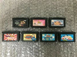Nintendo GameBoyAdvance GBA Soft 7 Set Japan Game used - $21.49