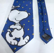 Snoopy Peanuts Dancing Mens Starry Sky Tie Necktie - $10.13