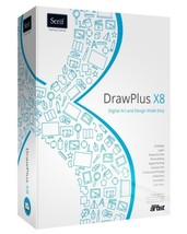 Serif DrawPlus X8 Full Version and Lifetime Activation Key - $12.99
