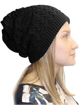 Peach Couture Womens Knit Thick Warm Slouch Beanie Ski Hat Cap - $12.98 CAD+