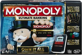 Hasbro Monopoly Ultimate Banking Board Game - B6677 - $40.45