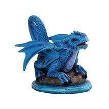PT Artichoke Flower Small Dragon Home Decorative Resin Figurine