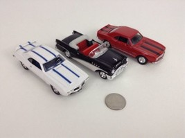 "Road Signature NewRay 4.5"" Diecast Lot of 3 Buick Firebird Camaro Toy Cars - $25.78 CAD"
