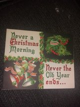 Holiday Motifs Vintage Christmas Card - €2,77 EUR