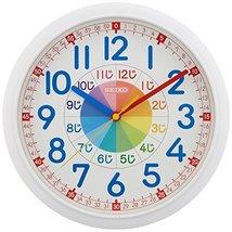 Seiko CLOCK clock educational wall clock (white) KX617W - $69.41