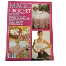 Vintage Magic Crochet Tricot #30 Pattern Magazine Classic Sweater Sets H... - $14.50