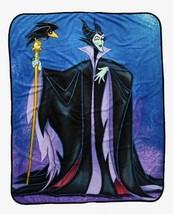 "Disney Maleficent And Diablo Super Plush Throw Blanket 46""x60"" - £29.23 GBP"