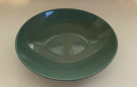 Taylor Smith & Taylor Pebbleford Teal Green Speckled 9 Inch Oval Serving Bowl - $38.99