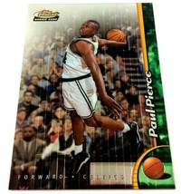 Paul Pierce Rookie Card 1998-99 Finest #235 No Protector Parallel Celtic... - $9.85