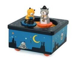 Musical Box Les Moustaches Moulin Roty - $53.59