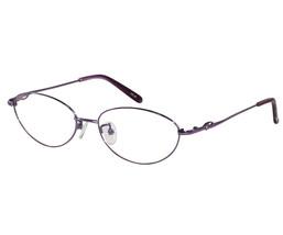 EBE Violet Stainless Steel Full Rim Oval Lens Super Light Super Strong - $27.58+