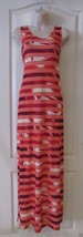 Apt. 9® Coral White Print Sleeveless  Maxi Dress Women's Sz M NWT MSRP$4... - $27.30