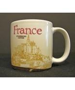STARBUCKS Coffee Demitasse Mug Cup 3 Oz France Global Icon Espresso - $7.99