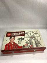 Gilbert Erector Set 10074-Ferris Wheel Kit 1959-1960 Vintage Toy Set Par... - $43.21