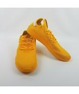 adidas Mens Pharrell Williams Tennis Hu Shoes CP9767 Gold  - $71.95