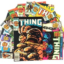 The Thing 13 Issue Comic Book Lot Marvel Copper Age Spider-Man She-Hulk ... - $19.75