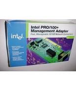Intel 10/100MB 10BT/100BTX RJ45 Pro/100+ Fast Enet PCI Adapter New - $59.39