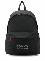 Tommy Jeans Cool City Logo Print Mesh Pocket School Shoulder Book Bag Backpack image 2