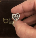 YOU and ME Together Forever Heart Charm,b791430