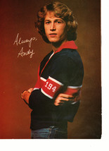 Andy Gibb John Schneider teen magazine pinup clipping tight jeans crossed arms