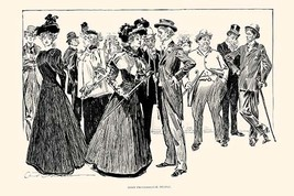 Some Professional People by Charles Dana Gibson - Art Print - $19.99+