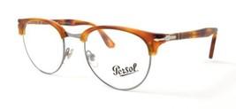 Authentic Persol Eyeglasses PO8129V 96 Havana Silver Frames 50MM Rx-ABLE - $67.71