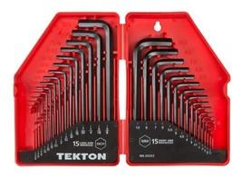 TEKTON Hex Key Wrench Set 30-Piece .028-3/8 inch 0.7-10 mm | 25253 - $21.65