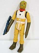 """Vintage 1980 Kenner Star Wars Bossk 3-3/4"""" Action Figure & Blaster Rifle 1980'S - $22.75"""
