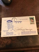 1983 Babe Ruth FDC Autographed by Johnny MIze - $48.02