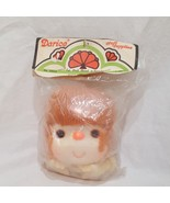 """Doll Head Brown Hair  with Hands 4"""" Old Stock Darice 50018 - $8.00"""