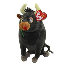 "TY 6"" Ferdinand The Bull Beanie Babies Plush Stuffed Animal With Ty Hear... - $16.48"