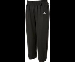 Nwt Adidas Jeunes Triple Rayure Tractions Pantalon Baseball T-Ball Uniforme Noir - $7.64+